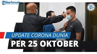 Update Corona Dunia per 25 Oktober 2020: Total 42 Juta Kasus, Korban Jiwa Mencapai 1,1 Juta