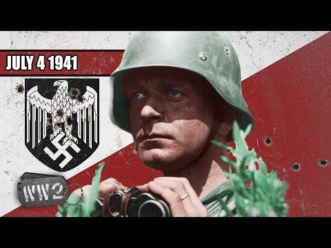 Němci jsou ve třetině cesty k Moskvě - Druhá světová válka