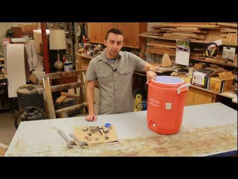 Video How to Build The BEST Mash Tun from a Beverage Cooler