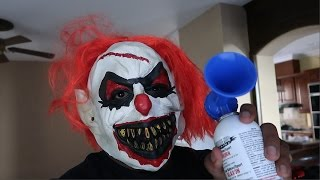 CREEPY KILLER CLOWN SCARE PRANK (goes horribly wrong!)