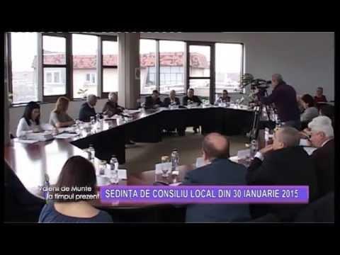 Emisiunea Vălenii de Munte la timpul prezent – Ședința de Consiliu Local – 6 februarie 2015