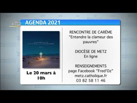 Agenda du 15 mars 2021