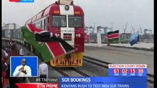 SGR sees a record 7000 passengers on first week of operation