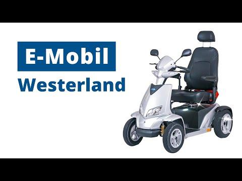 AKTIV Elektromobil Westerland │ Großer Scooter mit Top-Ausstattung