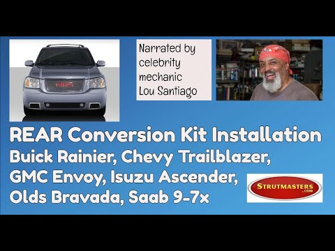 2002-2009 GMC Envoy Rear Conversion Installation