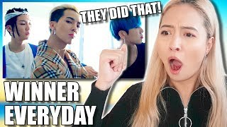 WINNER 'EVERYDAY' MV REACTION [THE SUPREME BOP]