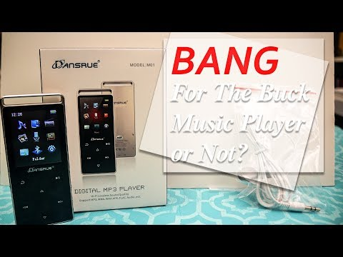 Good Quality Low Price MP3 Player? Dansrue Music Player 2018 Version Review and Guide