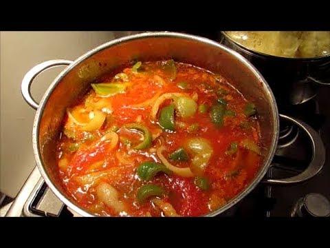 Лечо из перца и помидор Просто и вкусно