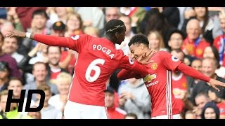 Man United Vs Leicester City 4  1 Highlights & All Goals  24/09/2016  HD  Premier League