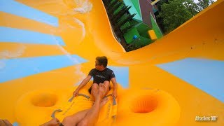 [4K] Colossal Curl Water Thrill Ride - Water County USA - Water Park