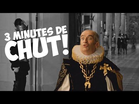 3 minutes de « Chut ! » avec Louis de Funès !