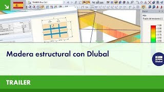 Trailer: Madera estructural con Dlubal
