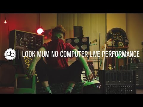 Look Mum No Computer Live Performance at Point Blank London