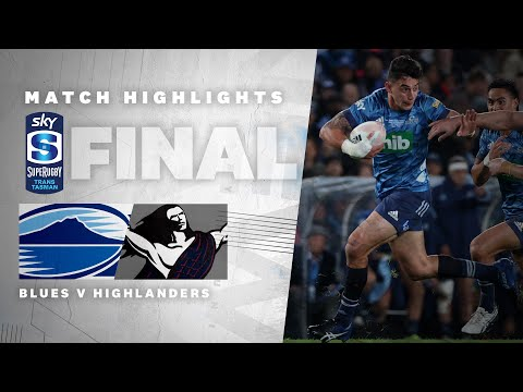 FINAL HIGHLIGHTS | Blues v Highlanders (Sky Super Rugby Trans-Tasman)