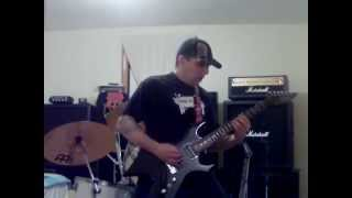 no one answers-guitar cover-dark angel-off there-1989 4th release called-leave scars-