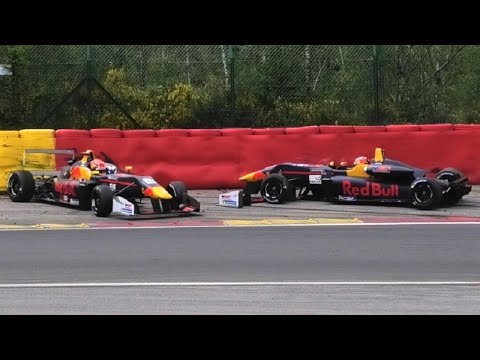 LEADERS CRASH! Euroformula Open at Spa-Francorchamps 2019