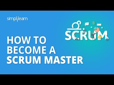 How To Become A Scrum Master | Scrum Master Certification Scrum ...