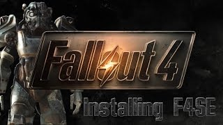 Fallout 4 How to Install Script Extender