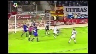 Albacete 1 - Real Madrid 1. Temp. 95/96. Jor. 10