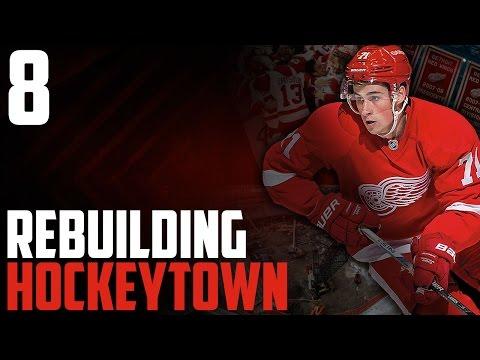 NHL 17 - Detroit Red Wings Franchise Mode #8