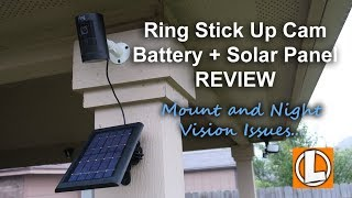 Ring Stick Up Cam Battery Review 2018 - Unboxing, Features, Setup, Settings, Video Footage