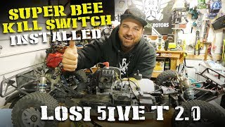 Installing The Super Bee Kill Switch in the Losi 5ive-T 2.0