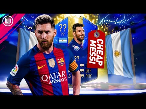 THE CHEAP TOTS MESSI!!! - FIFA 19 Ultimate Team