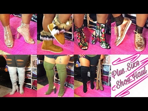 e789e3762f6 Plus Size Fall Shoe Haul