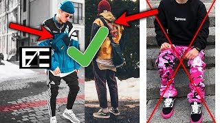 How to PROPERLY STYLE COLORED CLOTHING (STREETWEAR)