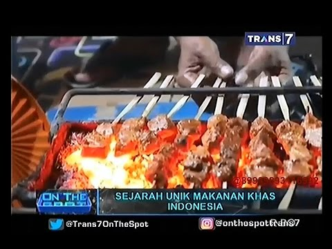 Video On The Spot - Sejarah Unik Makanan Khas Indonesia