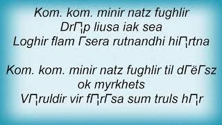 Arckanum - Minir Natz Fyghlir Lyrics