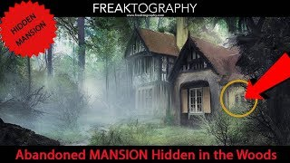 We Found a Hidden Abandoned Mansion in the Woods.  Exploring with Freaktography and Carlo Paolozza