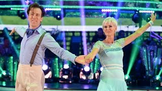 Judy Murray & Anton du Beke Cha Cha to 'She's a Lady' - Strictly Come Dancing: 2014 - BBC One