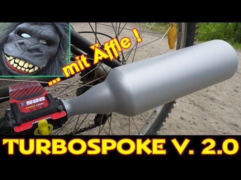 TURBOSPOKE V. 2.0 / FAHRRADAUSPUFF MIT SOUND (Bicycle Exhaust System) [deutsch/german]