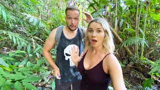 Wyprawa do dżungli i bliskie spotkanie z małpami!   Phuket, Tajlandia
