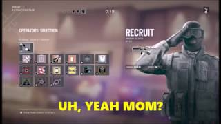 """REAPER OF OLD AND ZIRCON DISS (GONE WRONG) Rainbow six siege funny moments!"