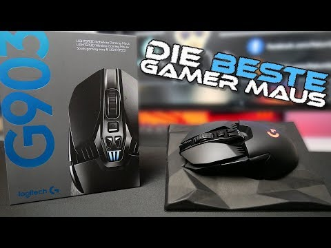 DIE BESTE GAMER MAUS !!! LOGITECH G903 | REVIEW & UNBOXING | DEUTSCH