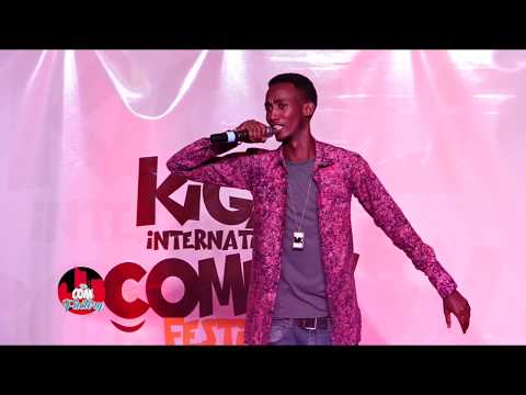 CLAPTON: STAND UP COMEDY  IN KIGALI INT COMEDY FESTIVAL