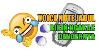 Voice Note Lucu Jadul, Ringtone SMS Jadul Tahun 1990-2000an - Part 1