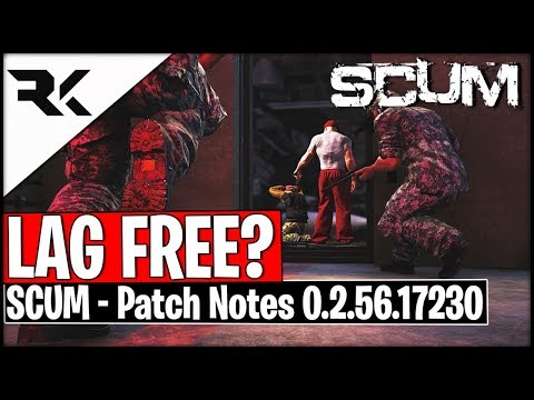 Scum UPDATE - Are We Officially Lag Free Now? + Base Raiding/Burying/CompassArrows/Duping/Armour