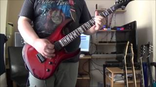 Arch Enemy - Carry The Cross - Guitar Cover