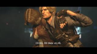 Resident Evil 6 - Phần cuối: Hết giết chó, giờ đến đánh khủng long và ruồi trâu