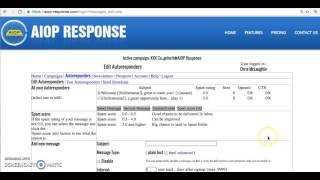 My AIOP Autoresponder Tutorial | All In One Profits
