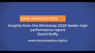 Survey Findings from the latest 2020 annual leaders report from Mindshop.