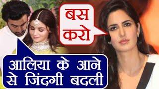 Katrina Kaif JEALOUS over Ranbir Kapoor's statement on Alia Bhatt! | FilmiBeat