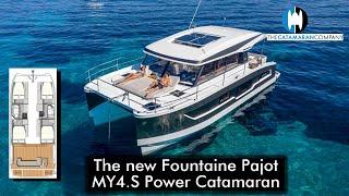 The New Fountaine Pajot MY4 S Power Catamaran   Teaser Trailer
