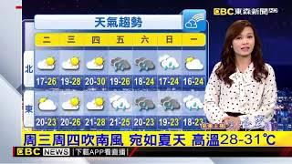 氣象時間 1080325 晚間氣象 東森新聞