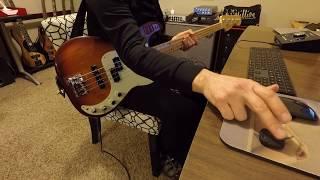 John Entwhistle - I Wonder (bass cover, 1st try)