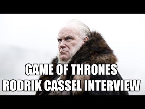 Game of Thrones Rodrik Cassel Interview - Ron Donachie | MTW