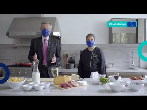 Cocina con el Embajador de la Unión Europea dos deliciosas recetas europeas